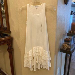 NWT~GAPKIDS Off White Dress Size XXL(14-16) Yrs